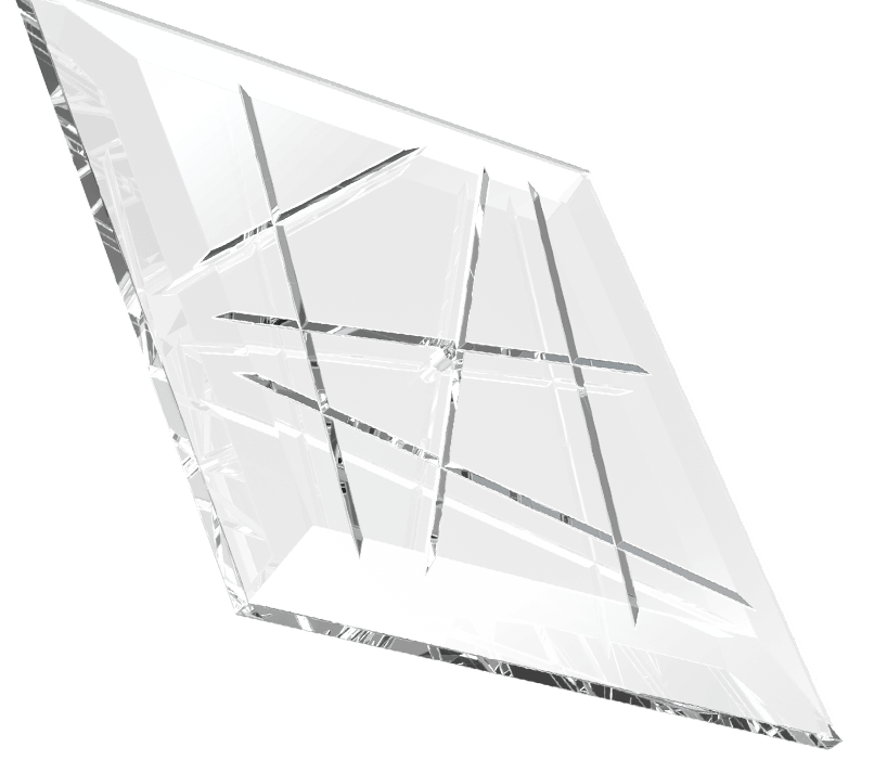 Diamond Wall Component Sans Souci Lighting