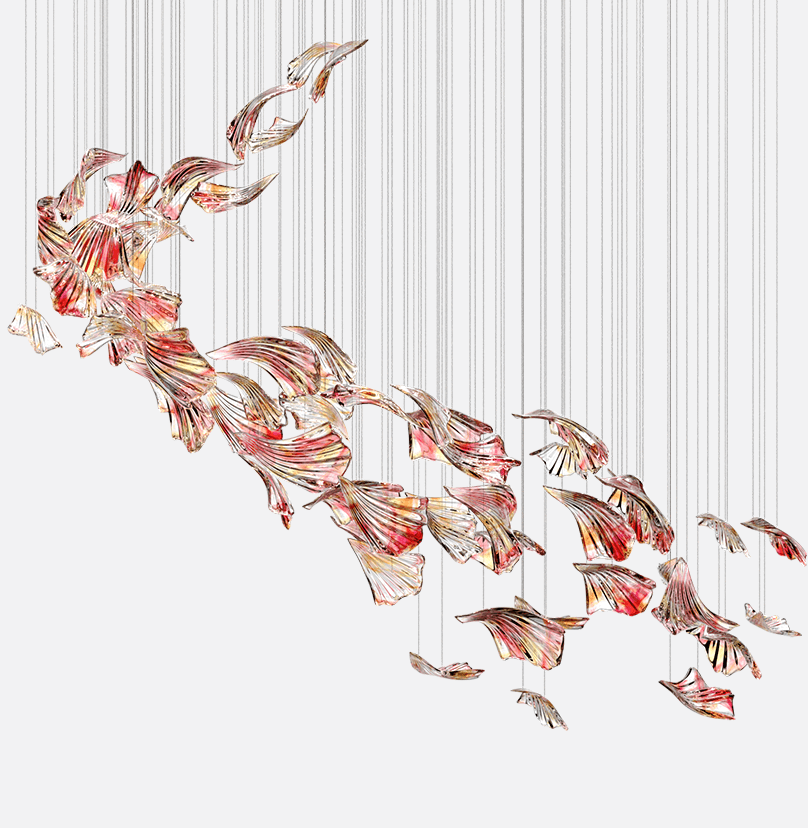 Flamenco Composition Sans Souci Lighting