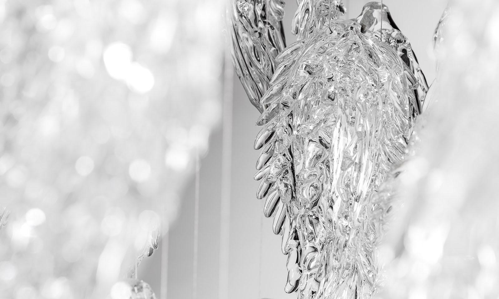 Frosty Leaves – Sans Souci Lighting