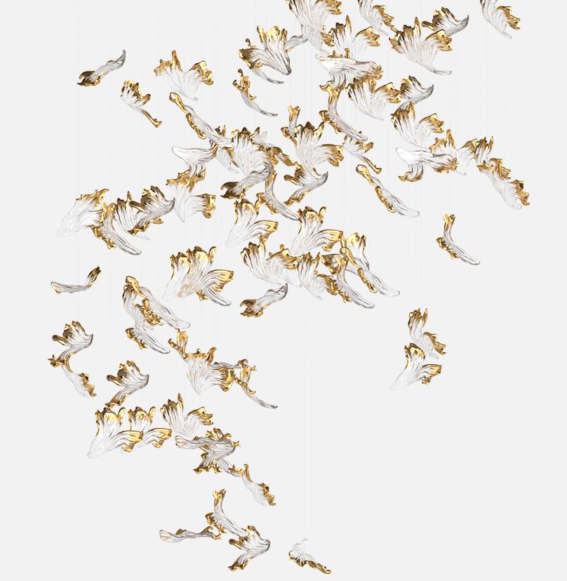 Frozen Composition Sans Souci Lighting