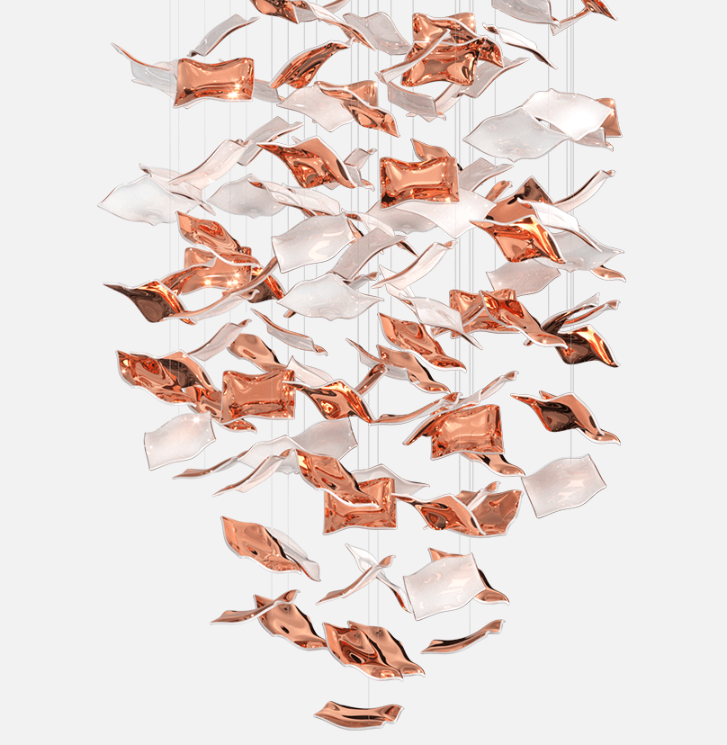 Kerchiefs Composition Sans Souci Lighting