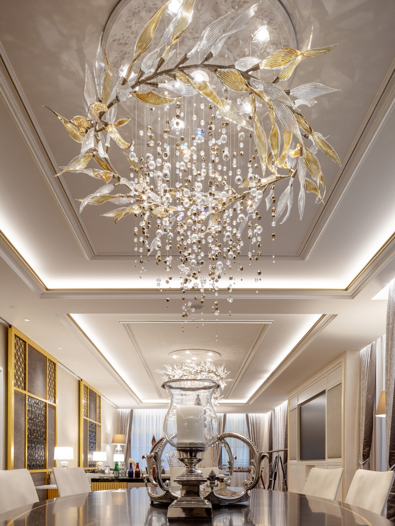 Sans Souci Lighting: Grand Resort Bad Ragaz