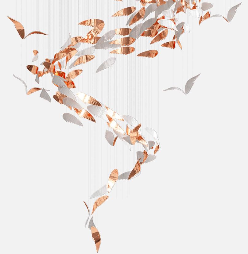 Wings Composition Sans Souci Lighting
