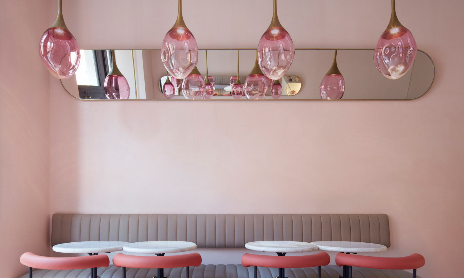 Sans Souci Lighting Connaught Patisserie, London UK